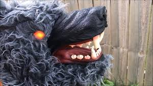 howling werewolf newraysun electronics animated halloween
