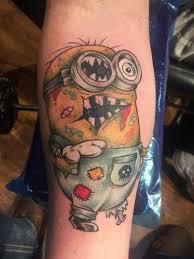 olio zombie tattoo by bryan from classic 13 tattoo 20171202