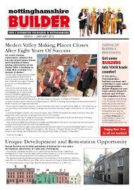 january 2012 nottinghamshire builder magazine by michael wilkinson