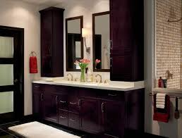 simple 25 bathroom with espresso cabinets on elegant espresso
