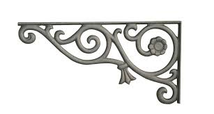 decorative sign bracket