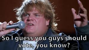 Tommy Boy Memes - voting chris farley gif find share on giphy