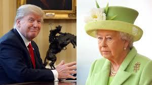 Queen Elizabeth Donald Trump Briten Wollen Queen Elizabeth Besuch Von Donald Trump Ersparen