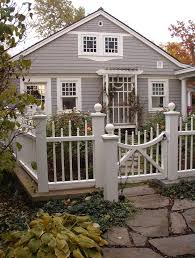 Decorative Fencing Decorative Fence Ideas Landscape Traditional With White Fence Gray