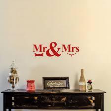 Home Decor Vinyl Wall Art by Online Get Cheap Mr U0026amp Mrs Wall Decor Aliexpress Com Alibaba Group