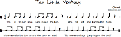No More Monkeys Jumping On The Bed Song Folk Songs Archives Page 135 Of 271 Beth U0027s Notes