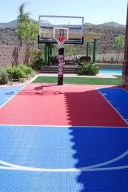 backyard sports court backyard designs arizona sport court