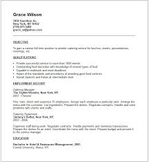 Food Service Manager Resume Sample by Catering Resume Sample Once You Have Paid The Templates Will