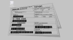 Fedex Label Template Word Print Vda 4902 Aiag Galia Etc Labels With Tformer Designer