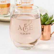 stemless wine glasses wedding favors 5 special rehearsal dinner ideas gardens the o jays and