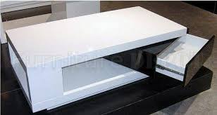 white end table with storage coffee tables ideas modern white coffee table modern white wood