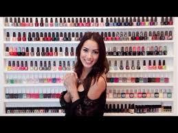 introducing lynette cenée nail polish shelves youtube