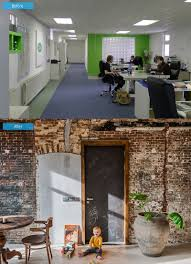 before and after once an office now a home home design lover