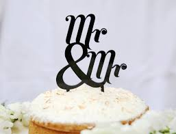 mr and mr cake topper 10 awesome same wedding cake toppers
