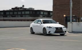 lexus is 250 custom wheels 2014 lexus is250 f sport awd test u2013 review u2013 car and driver