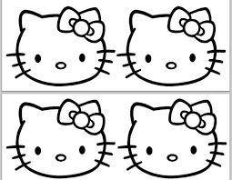 hello kitty birthday card printable free download
