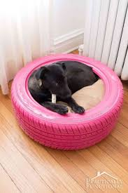Doggy Beds Diy Dog Bed From A Recycled Tire