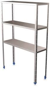 rayonnage chambre froide rayonnage inox 3 niveaux rayonnage chambre froide etagere inox 3