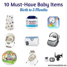 10 Must Essentials For A by Top 10 Must Baby Items Birth To 3 Months Baby Items Birth