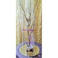 Tree Centerpiece Sale Bling Manzanita Tree Centerpiece Silver Glitter Bling