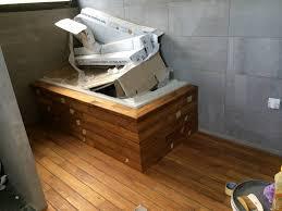 parquet pont bateau salle de bain avec parquet pont de bateau dootdadoo com u003d idées
