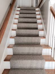 Silver Stair Rods by Merida Flat Woven Wool Stair Runner By Stitch Staircases And House