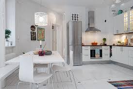 eat in kitchen island stunning white subway tiles kitchen