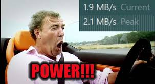 Internet Speed Meme - my download speeds are usually about 800kbps then today this