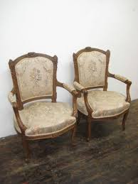 Victorian Armchairs Pair Neo Classical Style Victorian Armchairs 90763