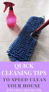 cleaning tips quick cleaning tips for busy people who have no time to clean
