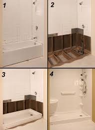 Bathroom Tub To Shower Conversion Tub To Shower Conversion The Refreshing Remodelbathroom