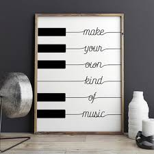 make your own kind of music wall decor redhotgorgeous make your own kind of music wall decor