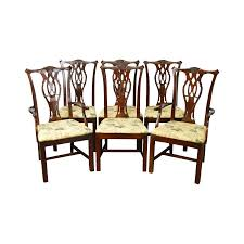 Chippendale Dining Room Chairs Vintage U0026 Used Chippendale Dining Chairs Chairish