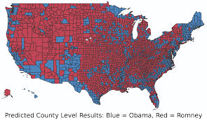 2016 Presidential Map How Well Did The Presidential Election App Perform Alteryx
