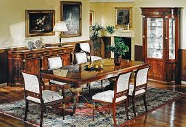 Empire Style High End Dining Table Gold Leaf Highlights - Empire style interior design