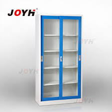 bookshelf with sliding glass doors steel office furniture glass sliding door bookcase file cabinet