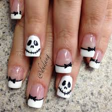 best 10 nightmare before christmas nails ideas on pinterest