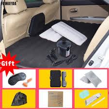 siege auto gonflable fuwayda haute qualité noir des voyages tout terrain voiture