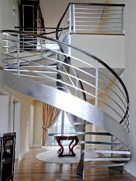 Helical Staircase Design Stainless Steel Helix Staircase U2014 Custom Metal Fabrication In