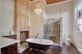 glam bathroom ideas 25 sparkling ways of adding a chandelier to your bathroom