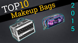top 10 makeup bags 2015 compare the best makeup bags youtube