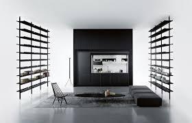 Black And White Contemporary Kitchen - italian kitchen cabinets u2013 modern and ergonomic kitchen designs