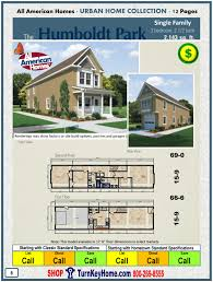 humboldt park single family all american modular home plan price