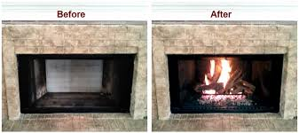 How Much Do Fireplace Inserts Cost by Coverting A Wood Burning Fireplace Into A Gas Unit