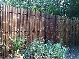 backyard design beautiful bamboo fence panels ideas carolbaldwin