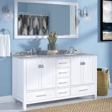White Bath Vanity With Top Bathroom Vanities You U0027ll Love Wayfair
