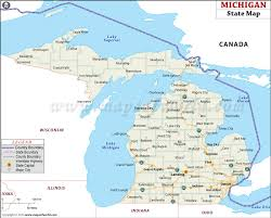map of michigan michigan state map map of michigan state