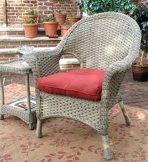 Plastic High Back Patio Chairs Veranda High Back Resin Wicker Chair With Cushion High Back Wicker