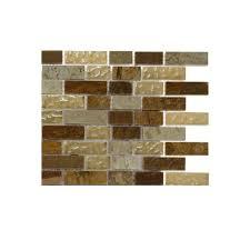 splashback tile london bridge 1 2 in x 2 in glass and marble