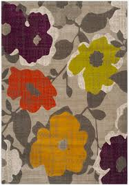 safavieh porcello prl7726c grey and yellow area rug free shipping